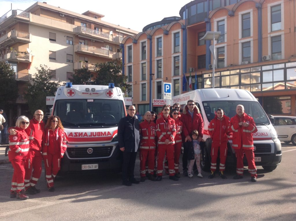 Ambulanza e pulmino per disabili: potenziata la Croce Rossa di Montesilvano