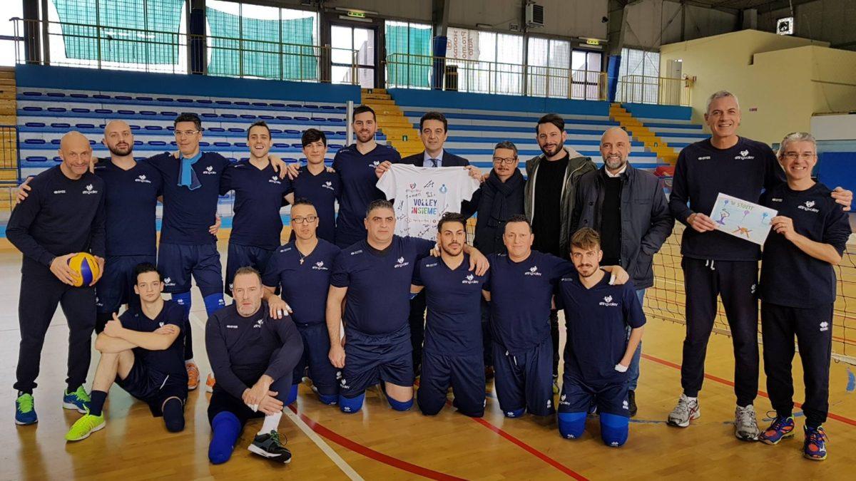 La Nazionale di Sitting Volley fa tappa a Montesilvano: tre giorni di preparazione ai campionati Europei