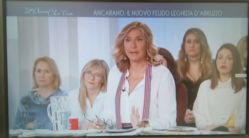 Ancarano, il nuovo feudo leghista: Salvini cita in tv il Comune. Arriva anche il servizio de La7
