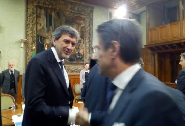 Fondi dissesto idrogeologico, Marsilio incontra Conte