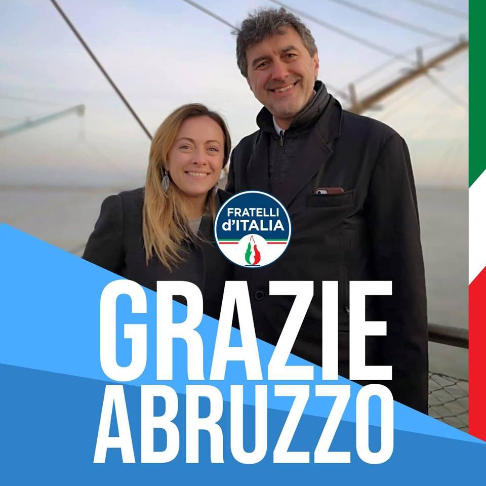 Elezioni, vince il centrodestra con Marsilio presidente. Lega primo partito