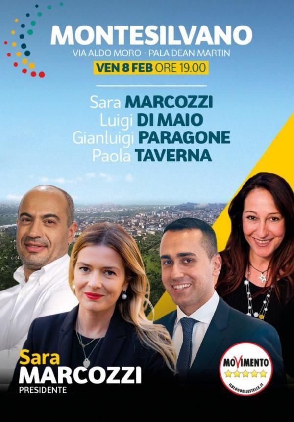 MaratonAbruzzo, chiusura con Sara Marcozzi (M5S)