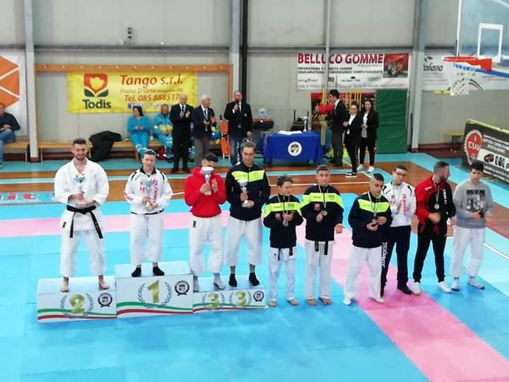 Trofeo Karate Csen di Torre de' Passeri: ecco i vincitori