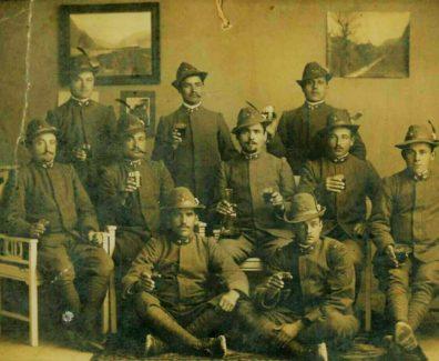 Alpini durante la prima guerra mondiale