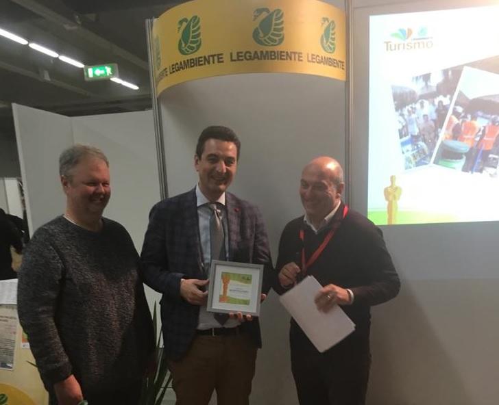 A Milano la consegna dell'Oscar dell' Ecoturismo al Comune di Montesilvano