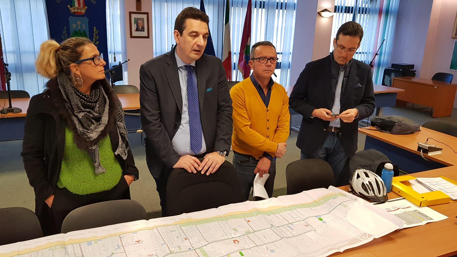 """Biciplan Montesilvano, Maragno: """"Più piste ciclopedonali in rete per migliorare la qualità della vita"""""""