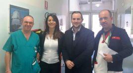 Oncologia Sulmona, personale carente: visita ispettiva di Fedele
