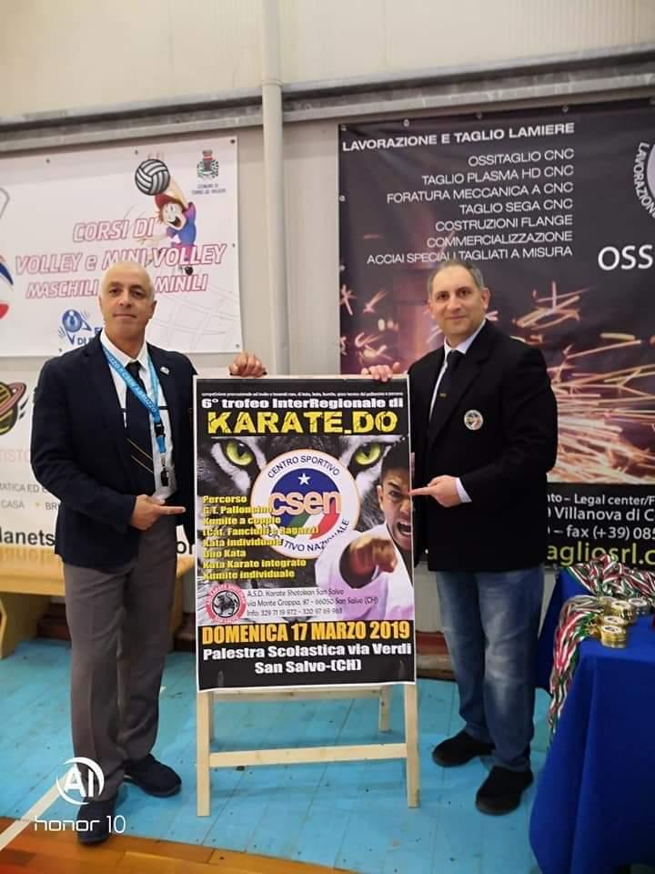San Salvo, tutto pronto per la semifinale del VI Trofeo InterRegionale di Karate.do