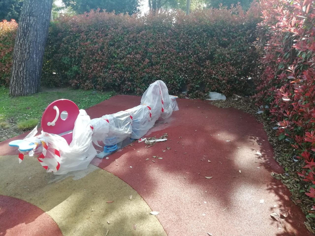 """Sant'Egidio: Degrado nei parchi pubblici:CasaPound """"uno dei tanti fallimenti dell'amministrazione Angelini"""""""