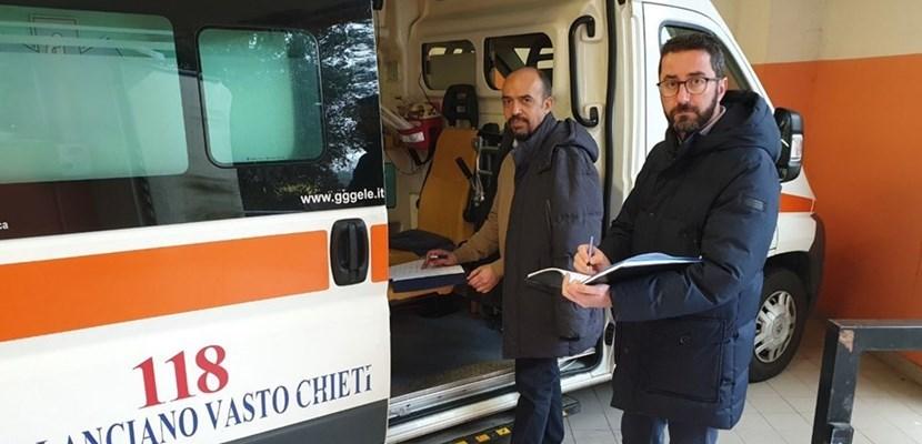 Ortona, ospedale Bernabeo: Smargiassi e Taglieri (M5s) segnalano carenze