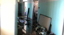Incendio ospedale Ortona: Si teme origine dolosa