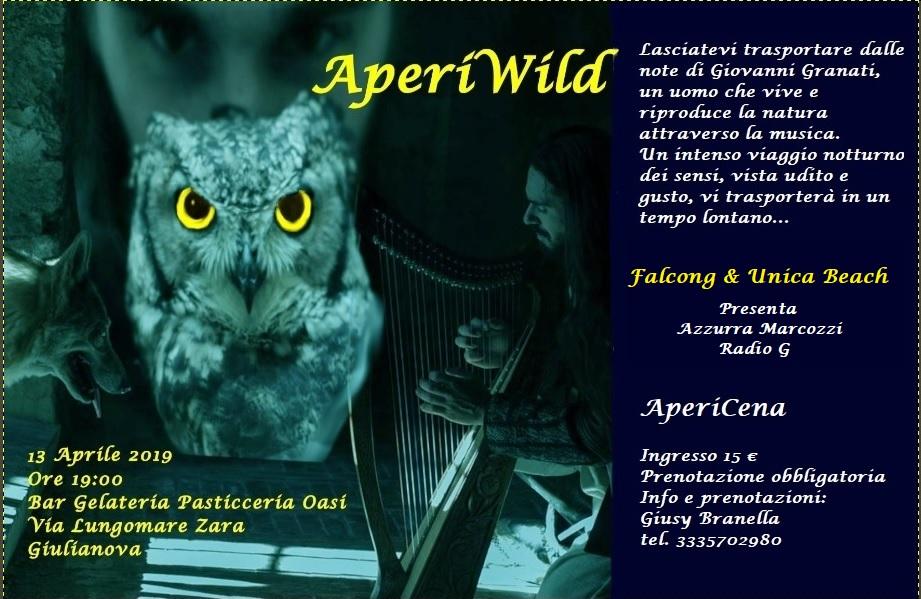 Giulianova, arriva  l'AperiWild tra note e magia della natura