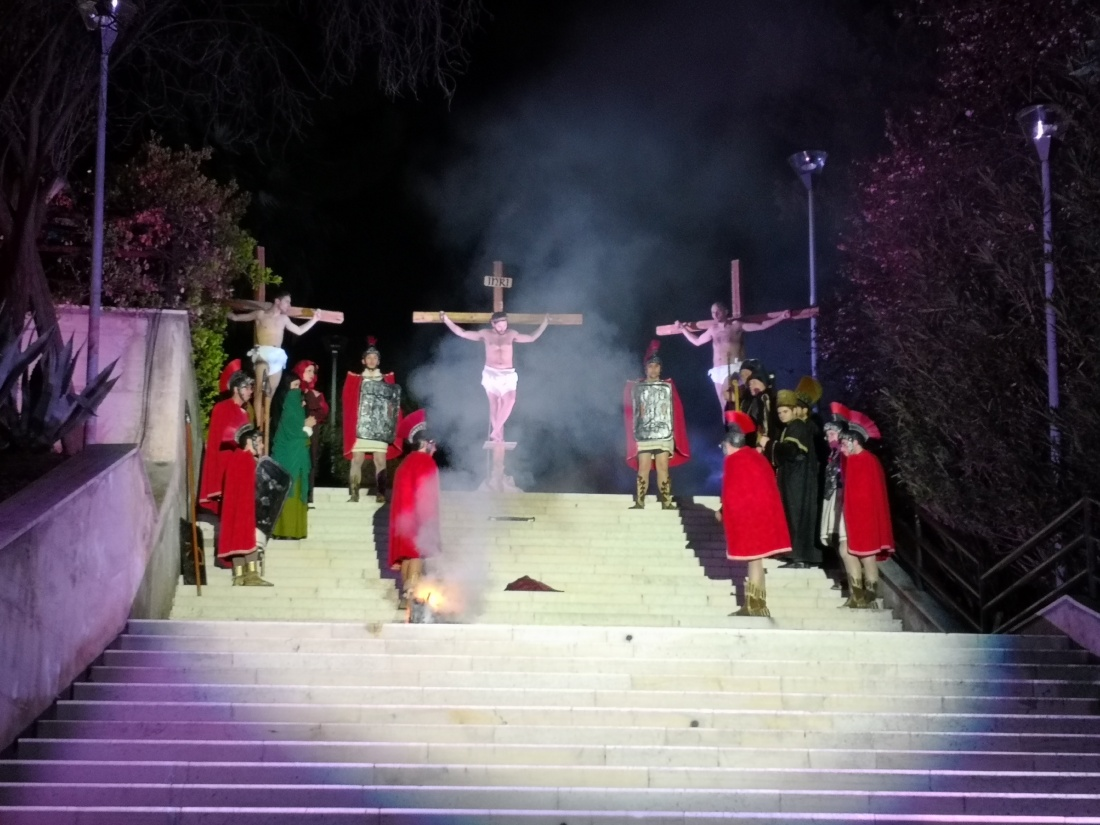 Francavilla al Mare, in scena la Passione del Nazareno con oltre cinquanta figuranti