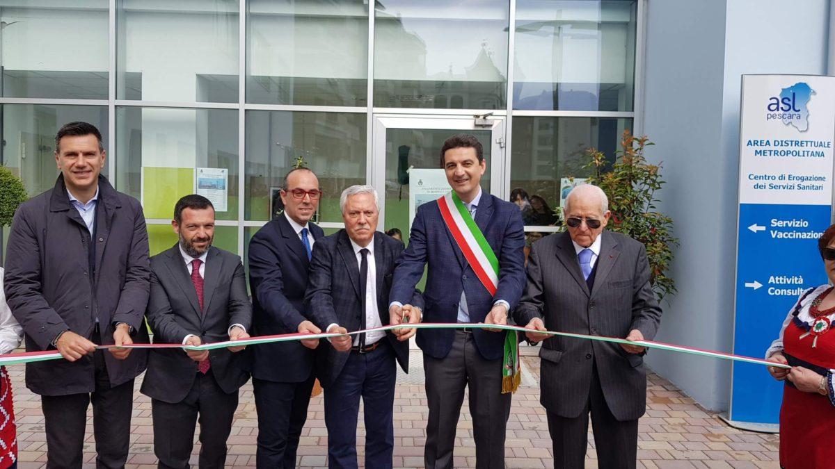 Montesilvano, inaugurato il nuovo distretto sanitario:atteso da 24 anni