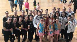 Tripudio di ori ai campionati regionali Csen di ginnastica ritmica