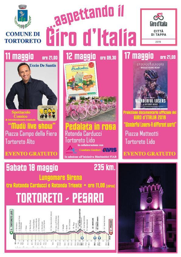 Aspettando…il Giro d'Italia: gli eventi a Tortoreto