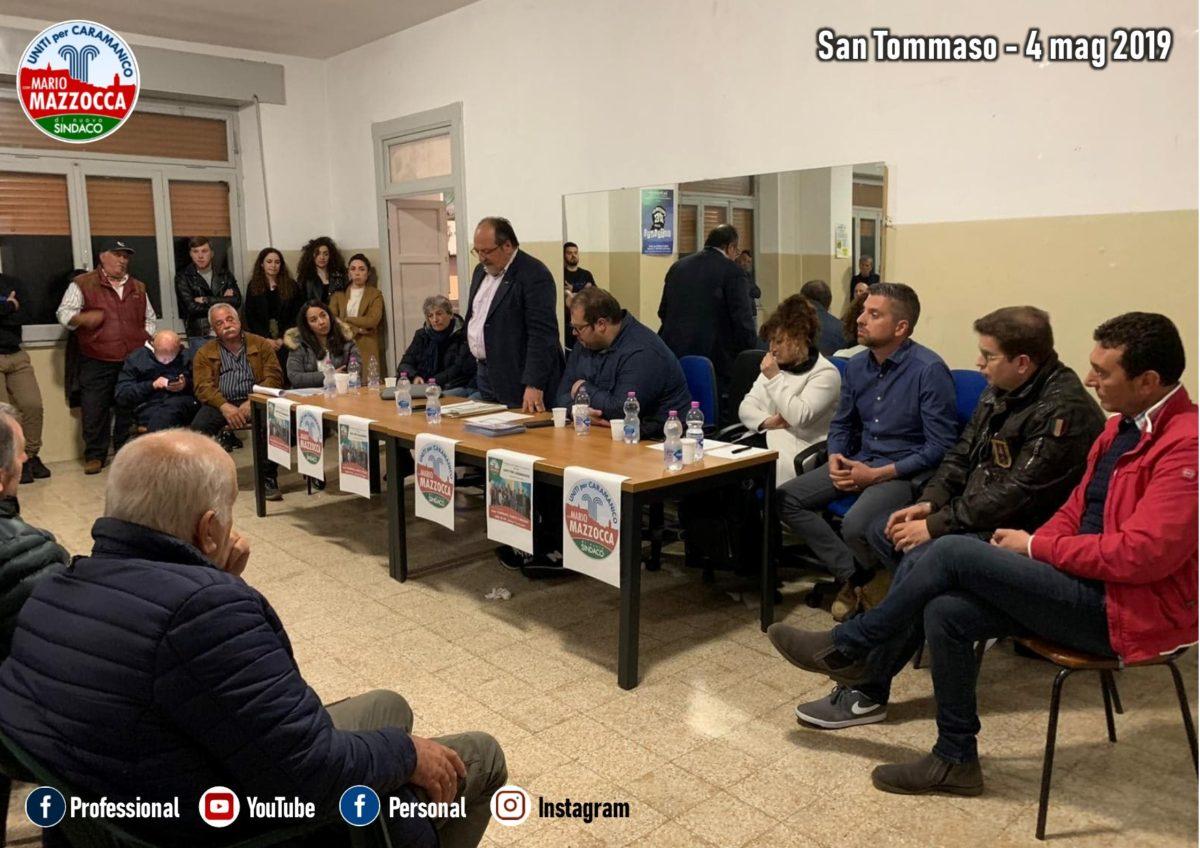 Elezioni Caramanico: prosegue il tour elettorale di Mazzocca