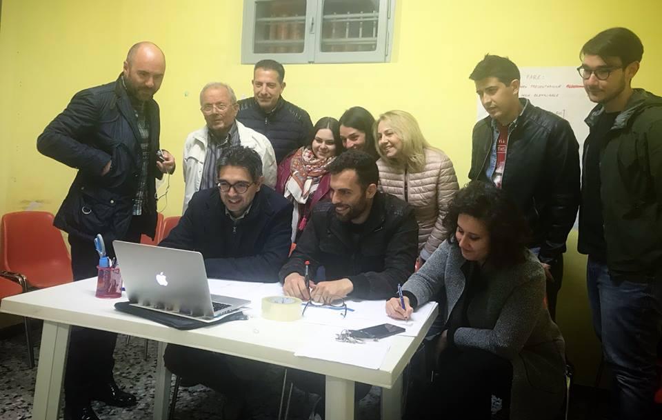 Elezioni Sant'Omero, Luzii e la sua squadra incontrano i cittadini