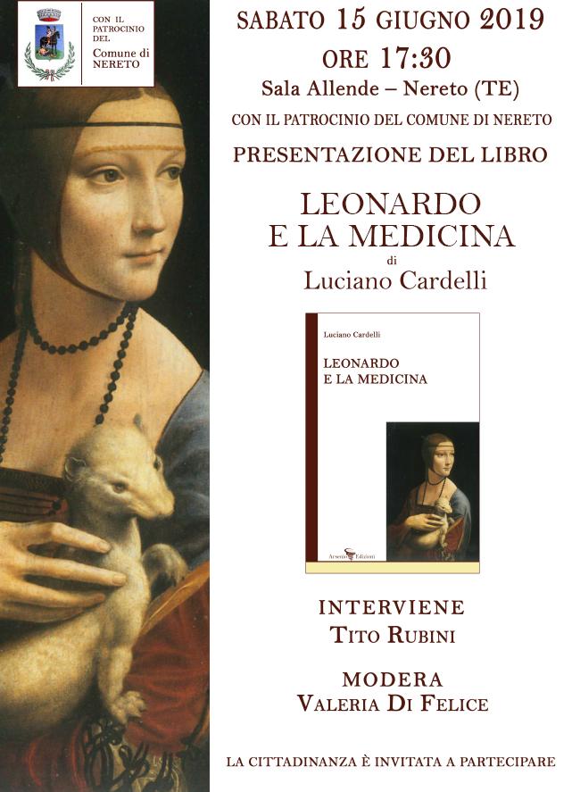 """A Nereto """"Leonardo e la medicina"""" di Luciano Cardelli"""