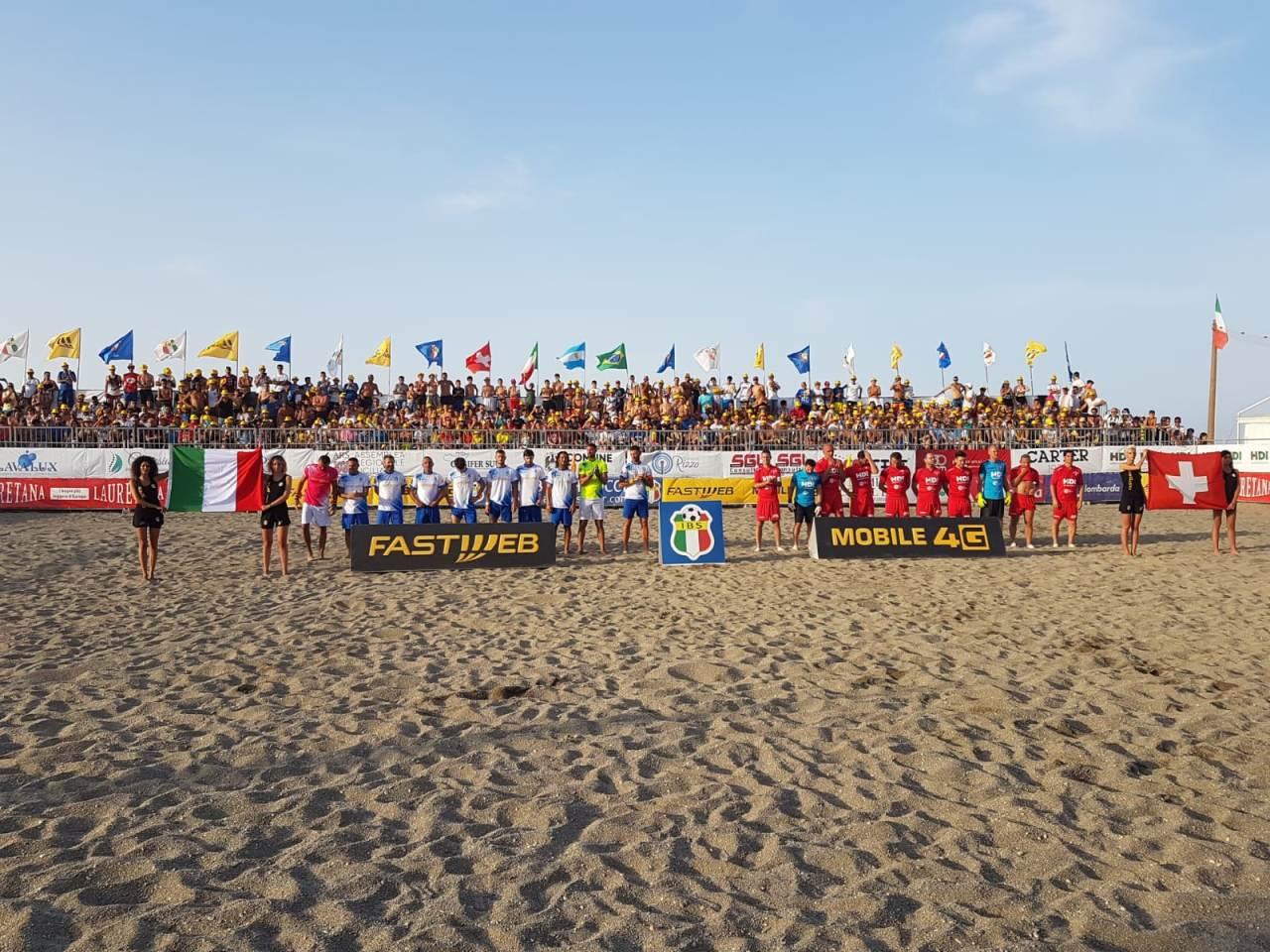 Martinsicuro ospiterà la tappa promozionale del tour dell'Italia Beach Soccer 2019