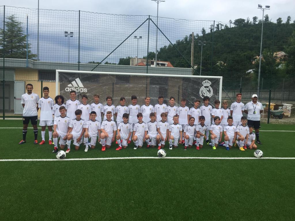A Torricella Sicura il Camp di calcio del Real Madrid