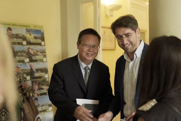 Delegazione cinese dello Yunnan visita Teramo: scambi commerciali e professionali
