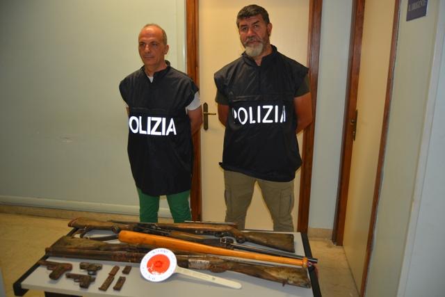 Giulianova, furto di armi all'interno di un'abitazione: arrestati