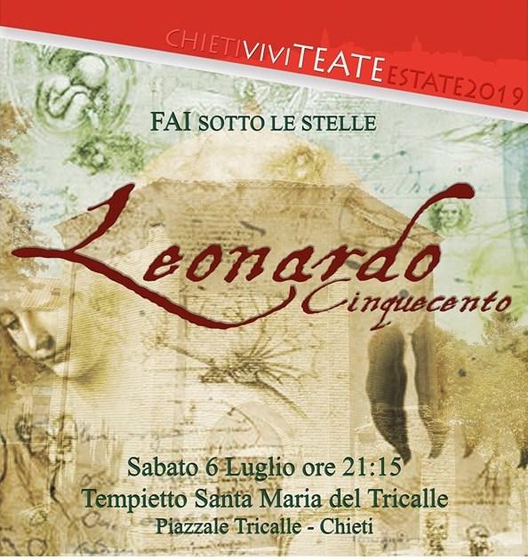 Chieti,Leonardo Da Vinci protagonista nell'evento Fai