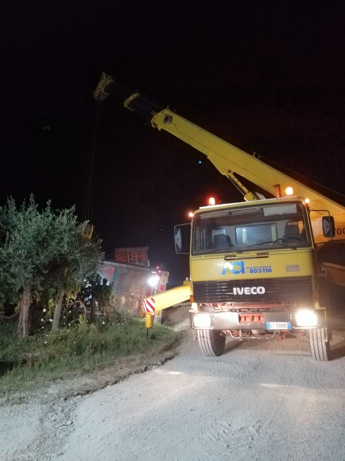 Poggio Morello,strade comunali pericolose: la denuncia di Sant'Omero Futura