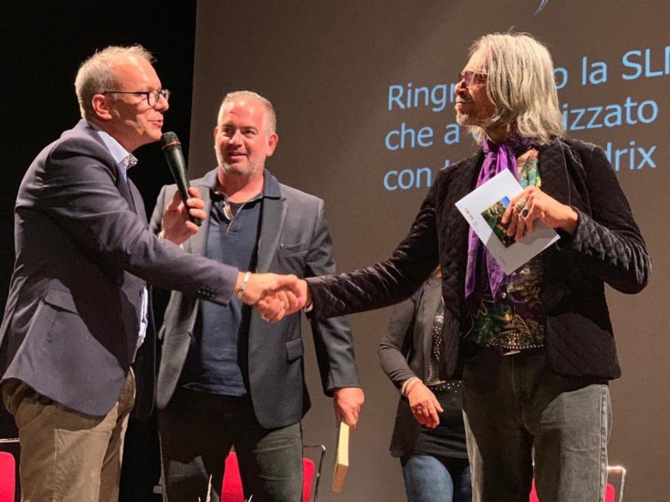 """Grande partecipazione a Pineto per l'incontro """"Jimi Hendrix mio fratello"""" con Leon Morris Hendrix"""