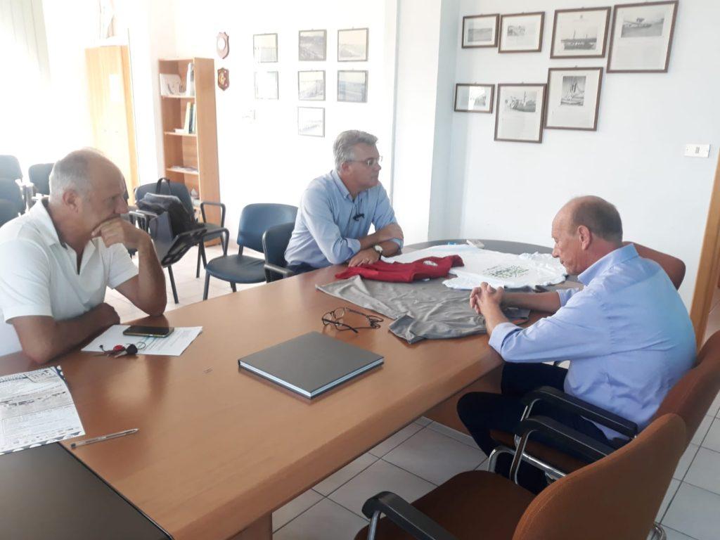 Pepe, visita al Porto di Giulianova per monitorare l'avanzamento dei lavori finanziati dalla giunta di centrosinistra