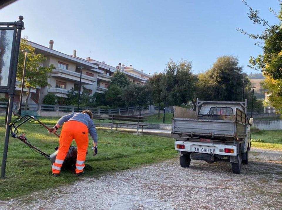 Al via lavori di manutenzione ordinaria nel quartiere dei Fiori di Pineto