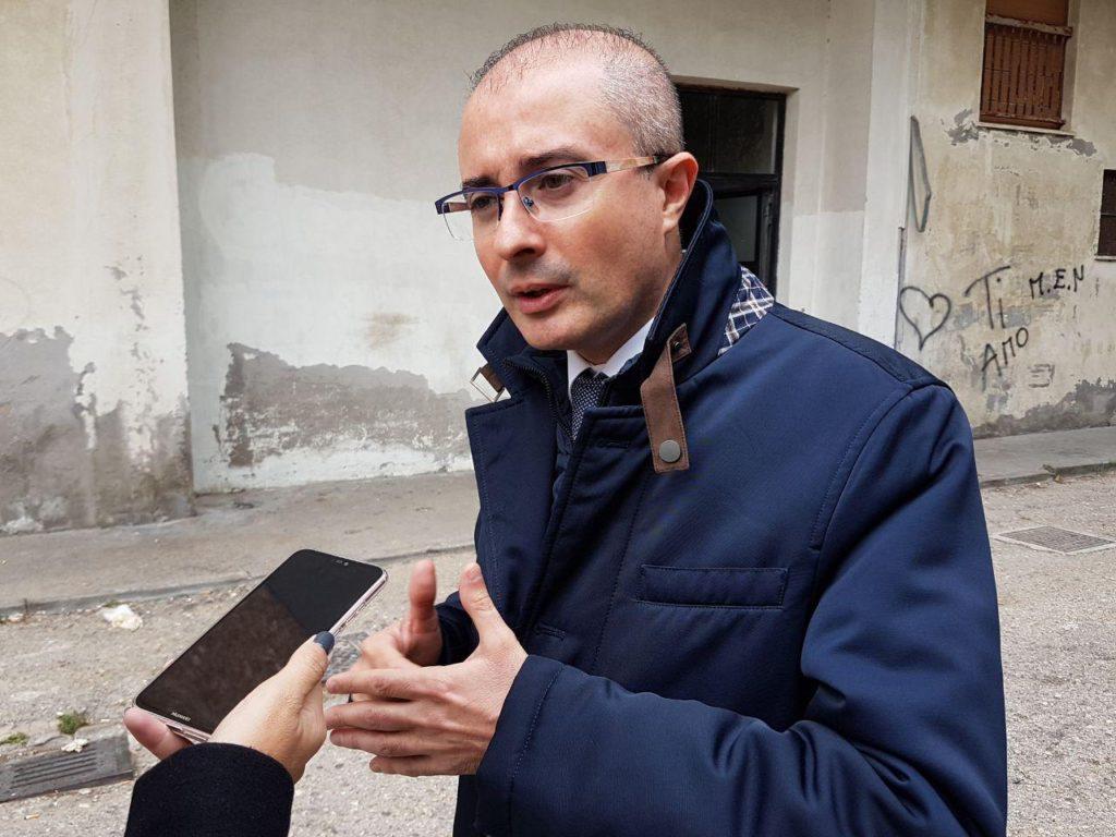 """Palazzo di via Lazio a Montesilvano, Pettinari """"la vergogna continua"""""""