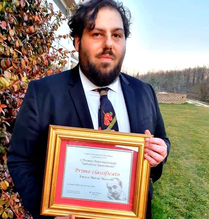 Enrico Maria Marcelli vince la V edizione del Premio Salvatore Quasimodo