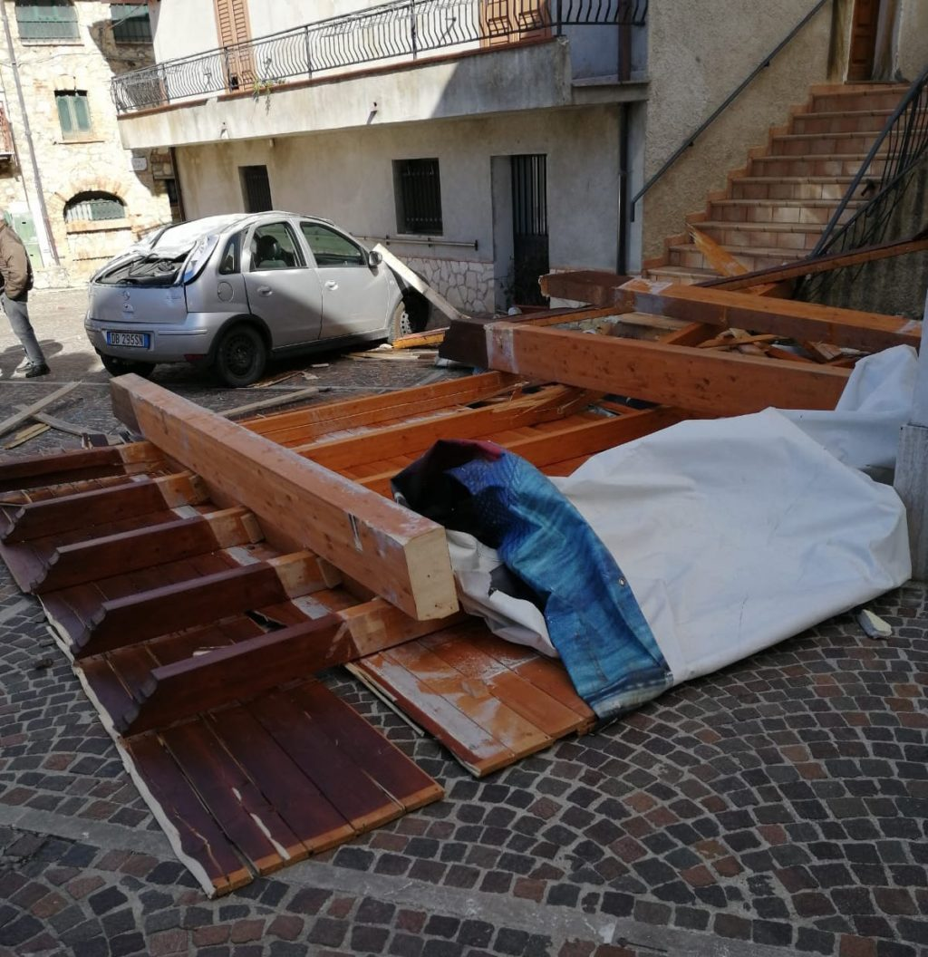 Maltempo, la giunta di Castelli chiede lo Stato di Calamità