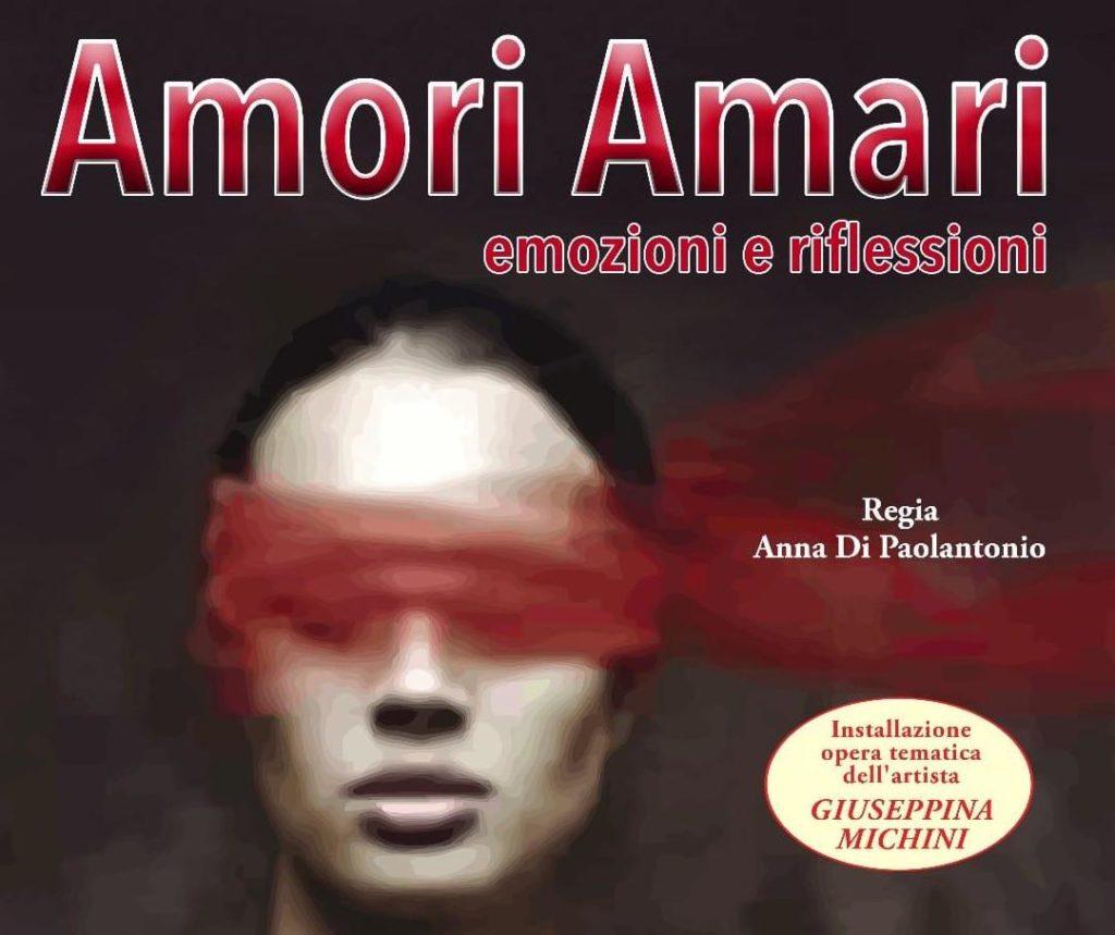 """Amori Amari"""" in scena al teatro Saliceti di Ripattoni di Bellante"""
