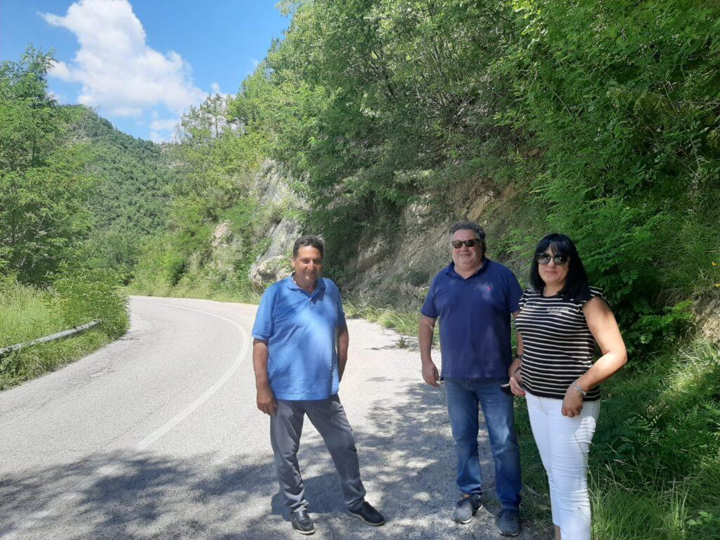 Viabilità,al via i lavori di messa in sicurezza sulla sp 49 a Valle Castellana
