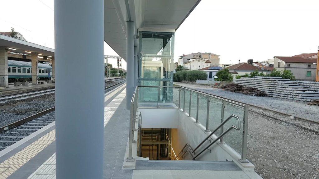 Stazione Giulianova, al via i lavori di un quarto binario