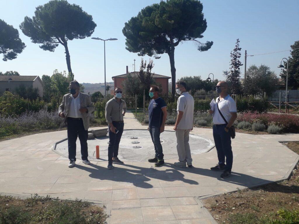 Giulianova, sindaco Costantini e Presidente Vasanella in visita alla Rsa di Villa Volpe