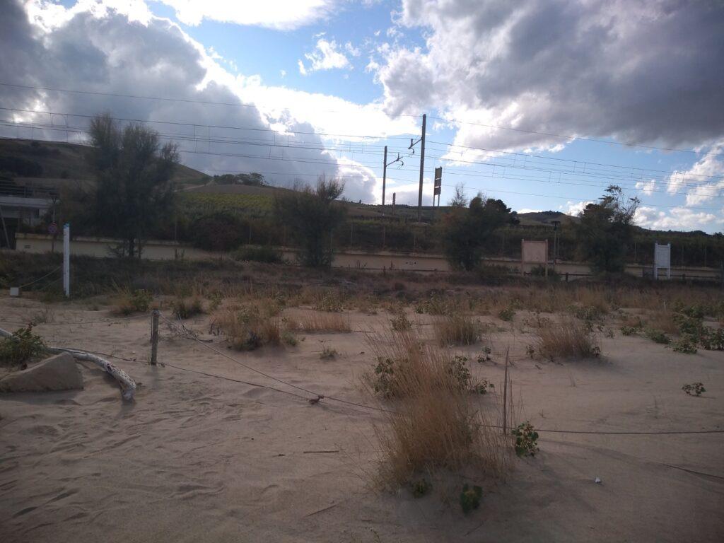 Area Marina Protetta Torre del Cerrano, dune aumentate in spiaggia