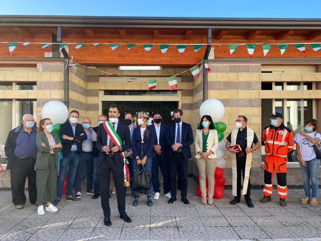 Campli, inaugurata la nuova scuola antisismica a Sant'Onofrio