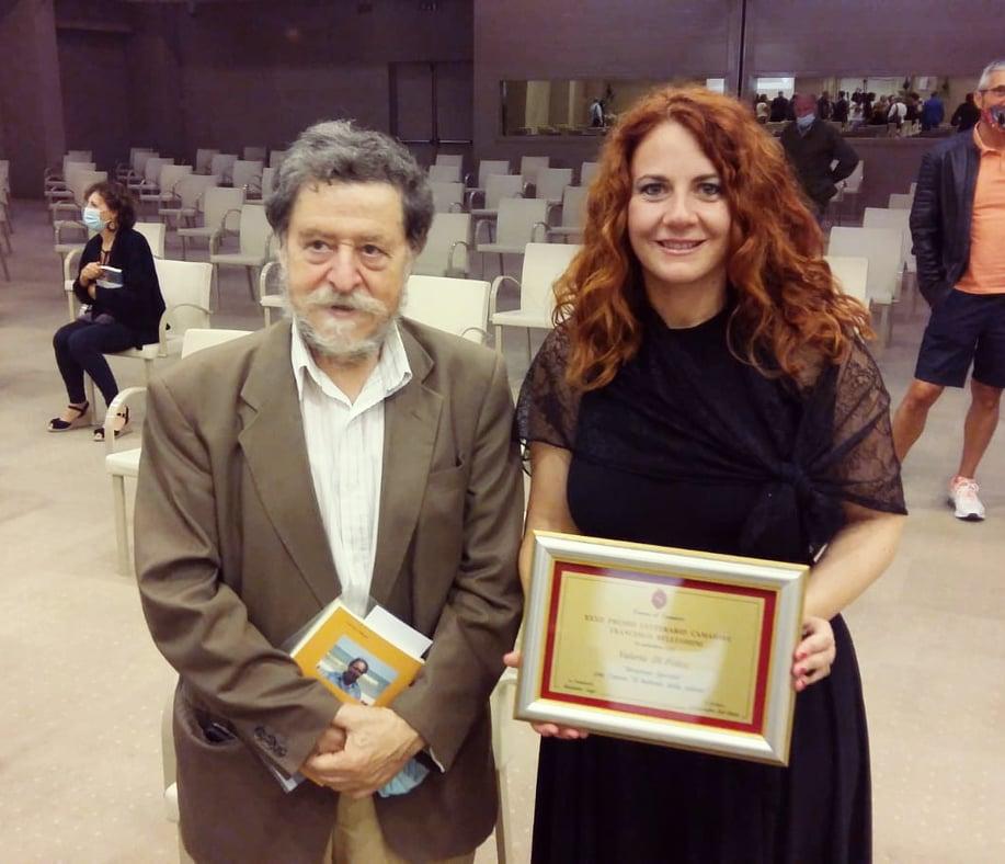 Menzione speciale a Valeria Di Felice al Premio Camaiore - Belluomini