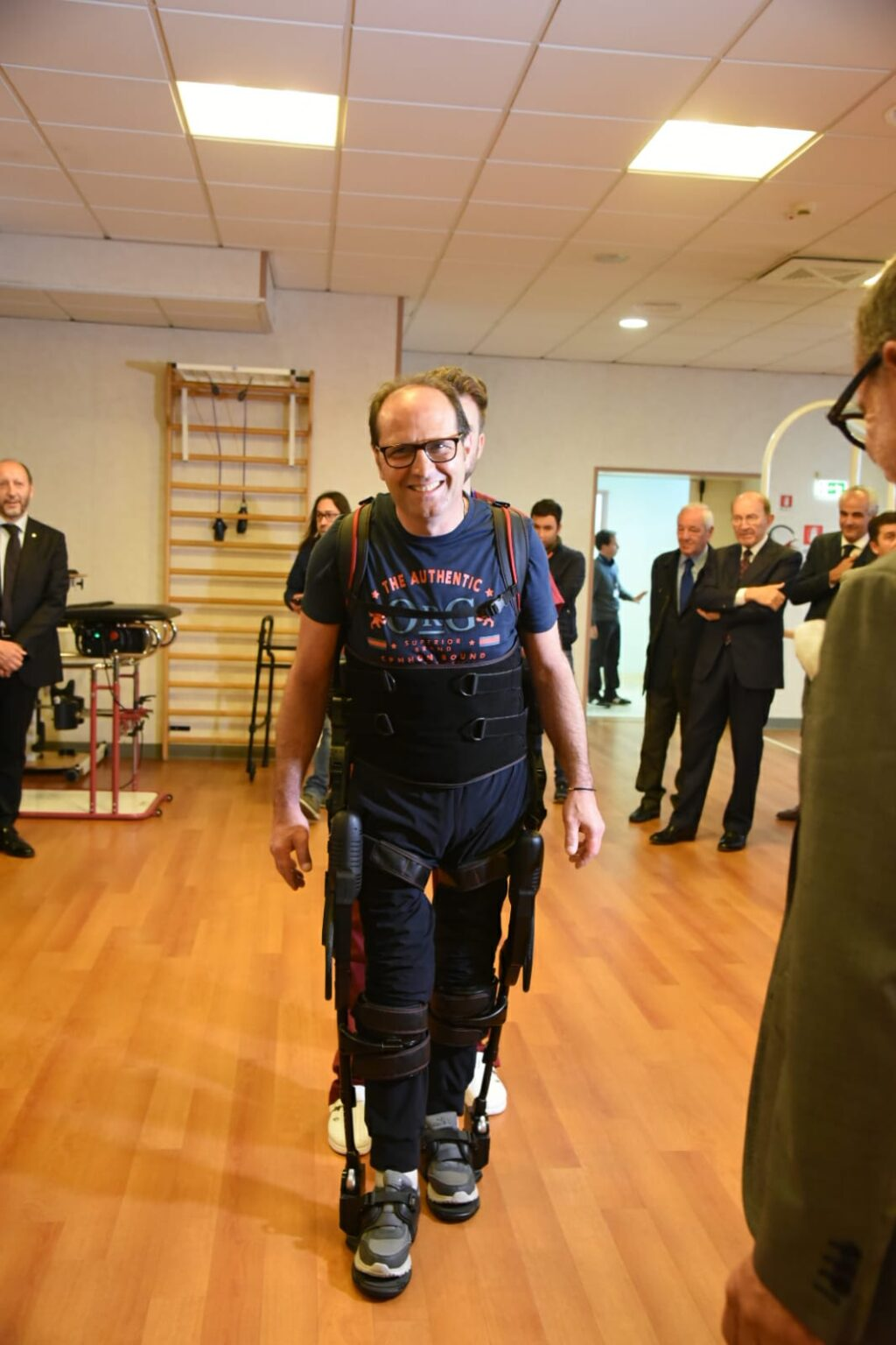Dalla riabilitazione robotica una grande speranza di normalità per un paziente del San Raffaele Sulmona