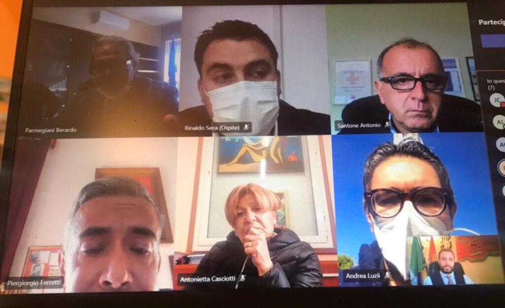 Covid, riunione Comitato ristretto dei Sindaci della Asl di Tearmo: il punto della situazione