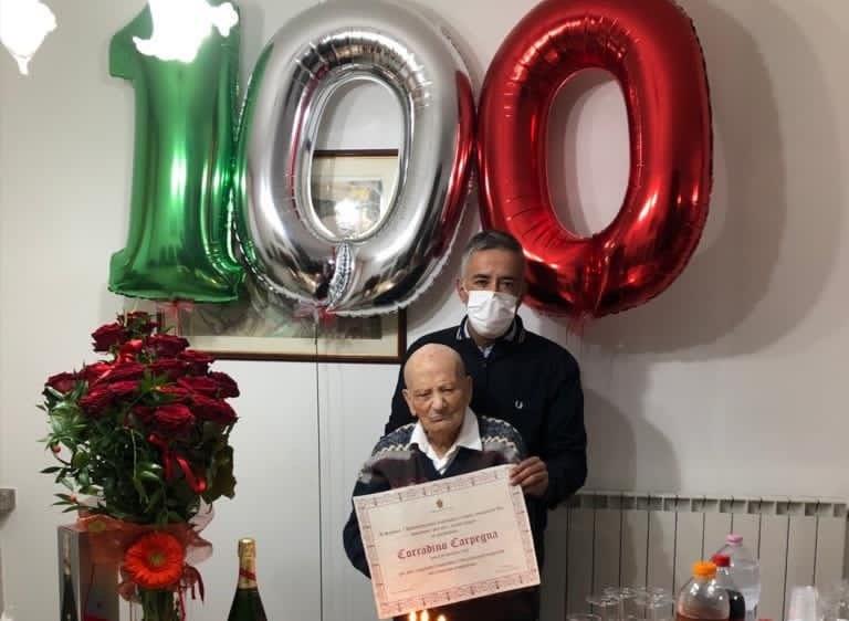 Atri, Corradino Carpegna guarisce dal Covid alla vigilia dei 100 anni