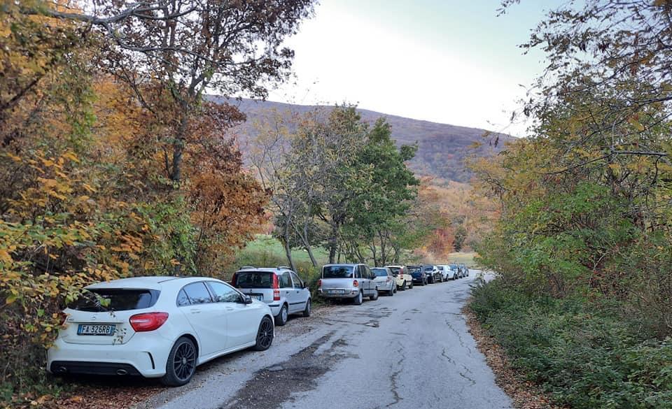 Campli, Monte Foltrone preso d'assalto dagli escursionisti