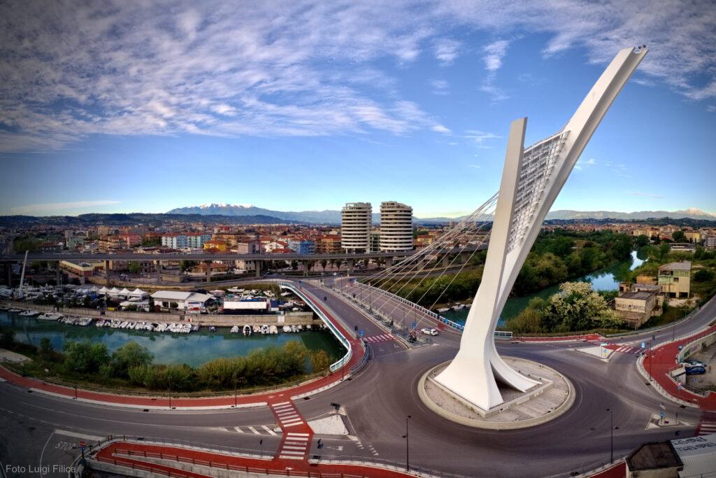 Pescara, da domani riapre al traffico il Ponte Flaiano