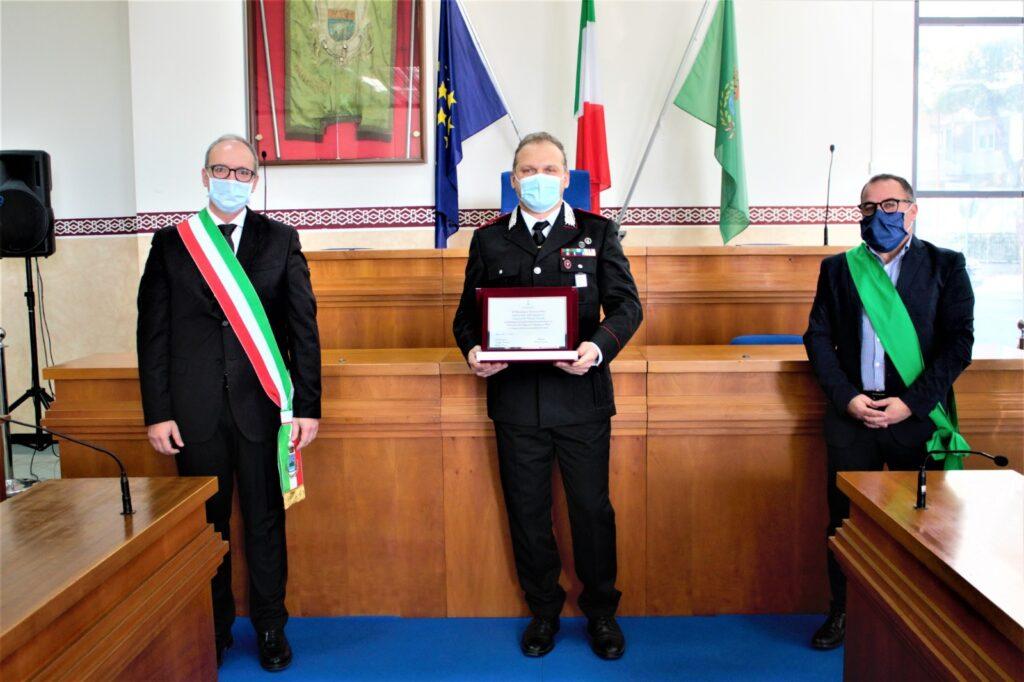 Carabinieri, Parretta lascia il comando. Al suo posto Luca Procida