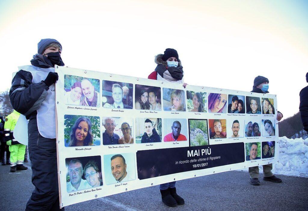 Rigopiano 4 anni dopo: Marsilio, vicinanza alle famiglie delle vittime e ai sopravvissuti