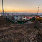 Pescara, iniziati i lavori di svuotamento della vasca di colmata